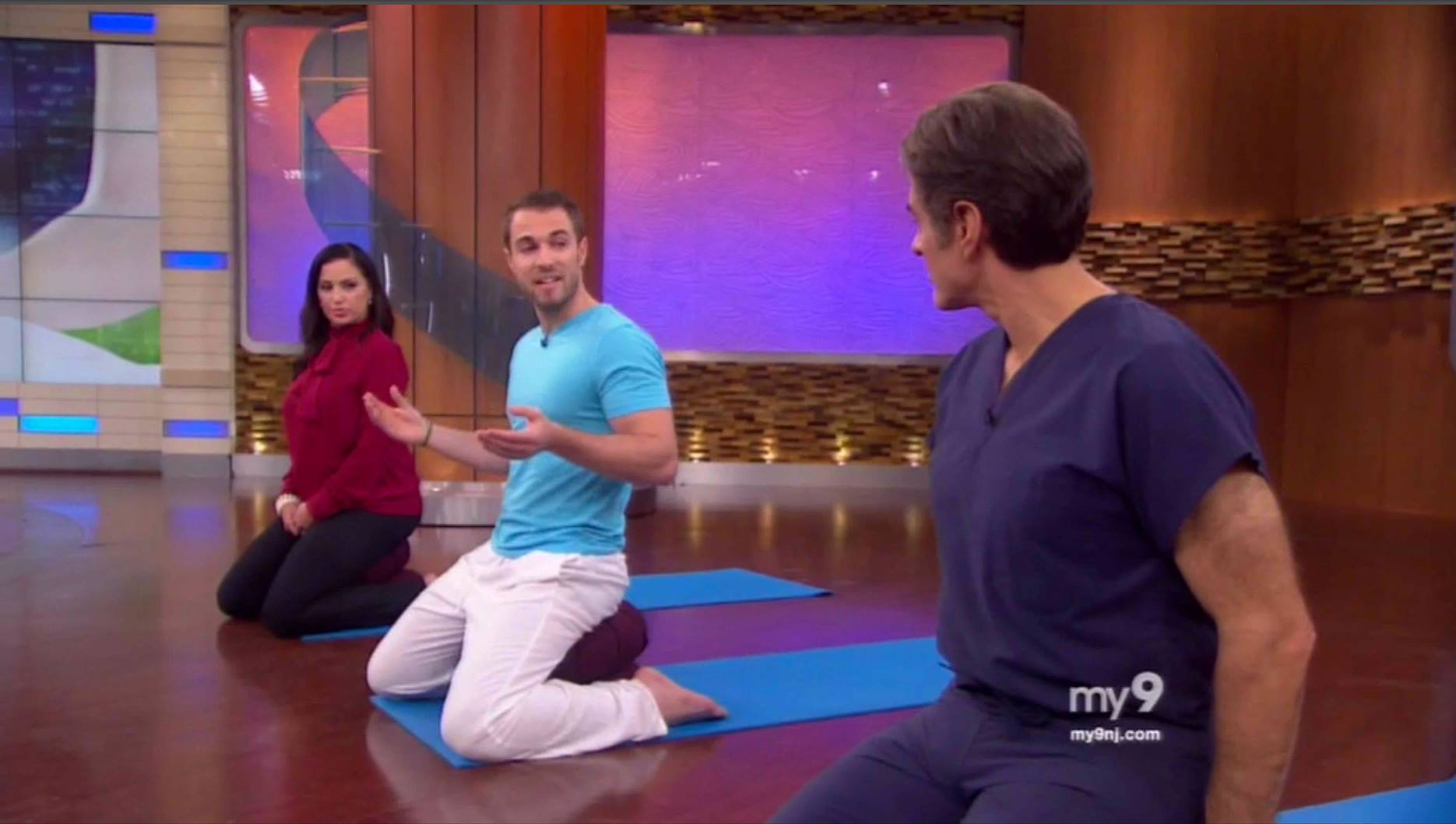 Cory Muscara sharing Mindfulness Meditation to Improve Sleep at The Dr. Oz Show