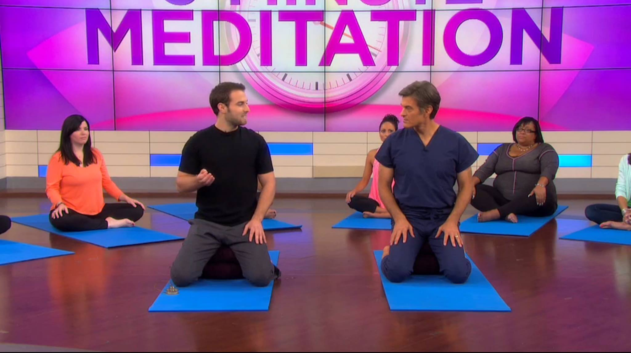 The Dr. Oz Show : Cory describing Mindfulness Meditation To Improve Memory